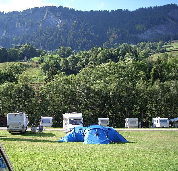 Camping d'Astaffort dans le Lot et la Garonne