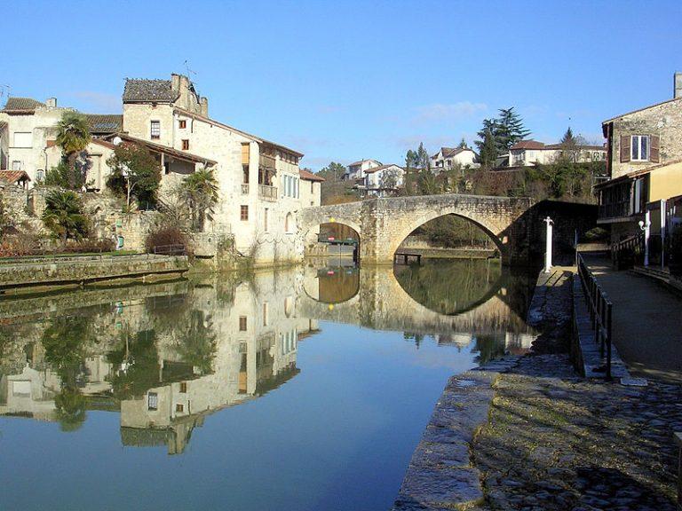 Ville de Nérac dans le Lot et Garonne